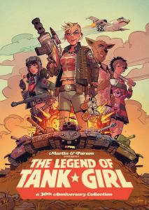 The Legend of Tank Girl - Collection Cover