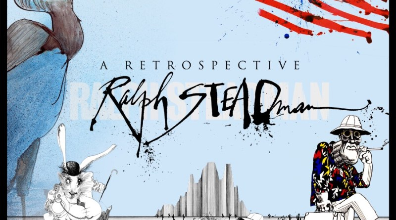 Ralph Steadman Retrospective Poster