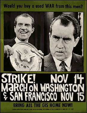 1969 Strike! March on Washington Poster