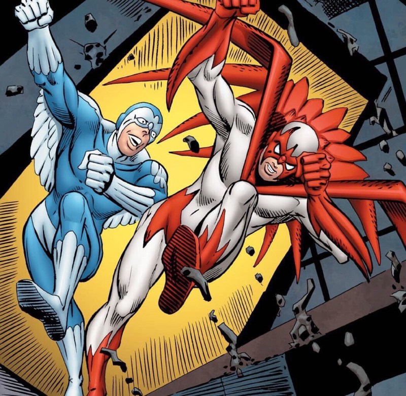 DC Comics The Hawk and the Dove - crated by Steve Ditko