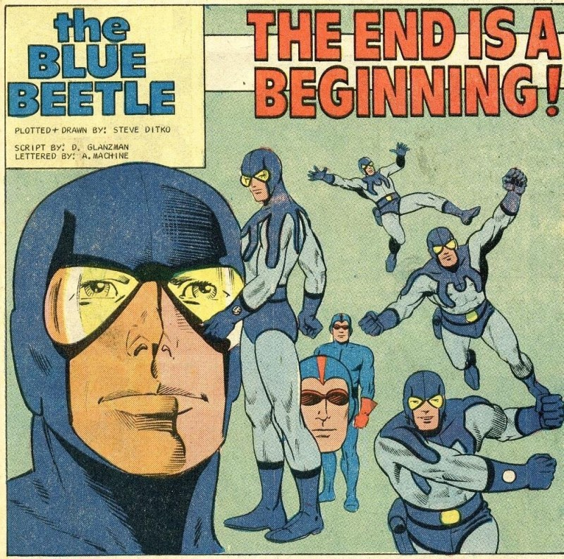 The Blue Beetle - crated by Steve Ditko