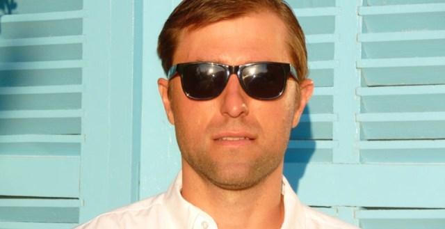 Comic writer John Harris Dunning