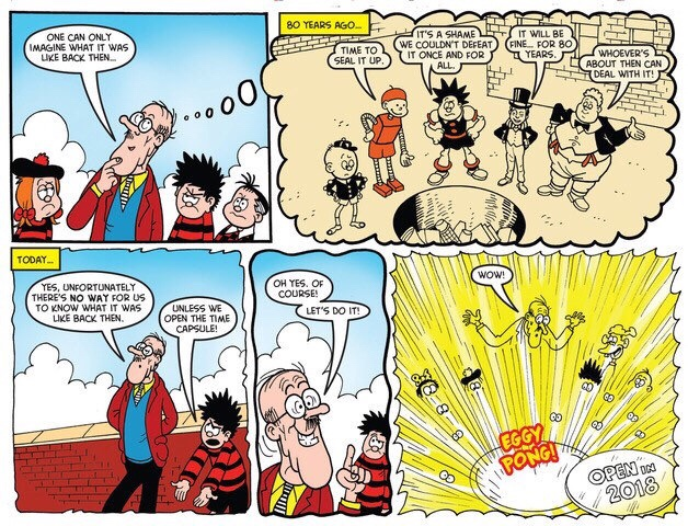Beano 3945 - Bash Street Kids and Dennis the Menace
