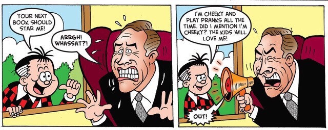 Beano 3945 - Roger the Dodger and David Walliams