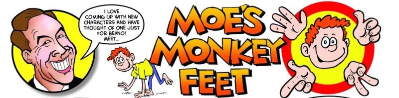 Beano 3945 - Moe's Monkey Feet by David Walliams