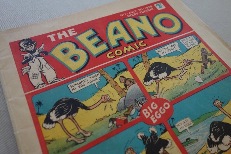 Beano Number One - cover dated 30th July 1938 (Phil's Comics copy, 2018 auction item)