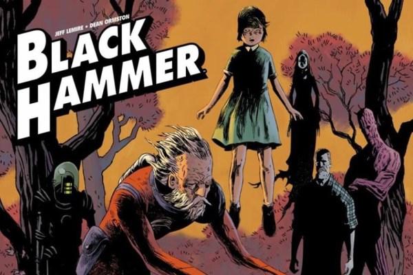 Black Hammer promotional art