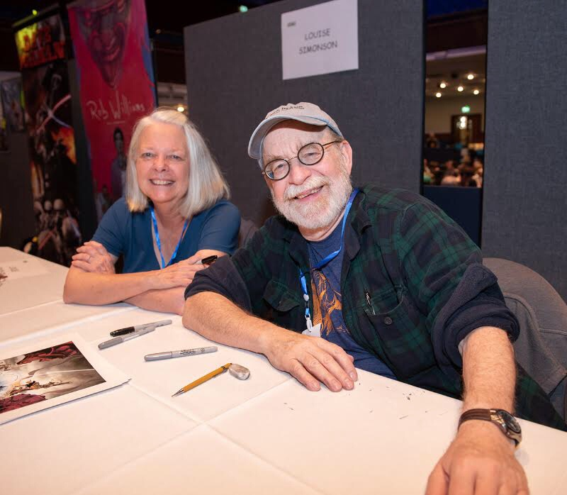 Portsmouth Comic Con 2018 - Louise and Walt Simonson