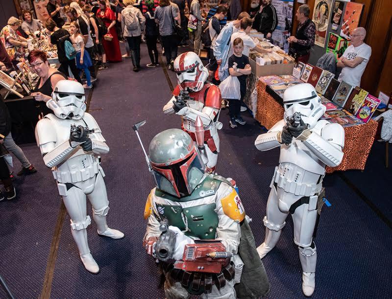 Portsmouth Comic Con 2018- Star Wars
