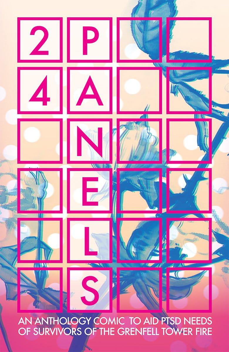 24 PANELS Anthology Cover