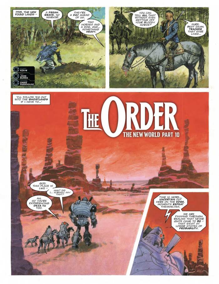 2000AD 2096 - The Order » The New World (Part 10)
