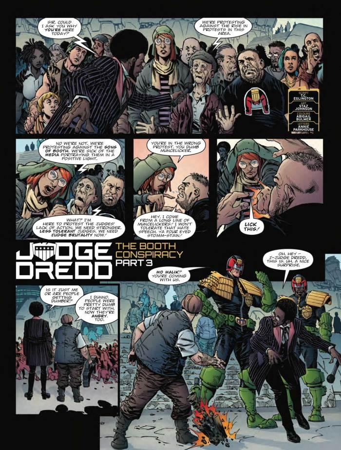 2000AD 2097 - Judge Dredd