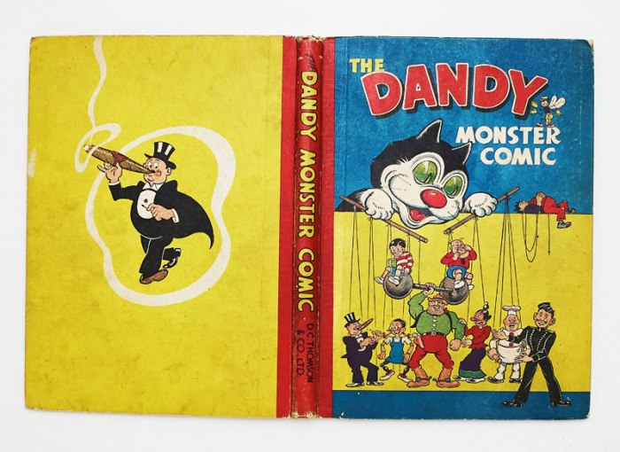 Dandy Monster Comic (1948)