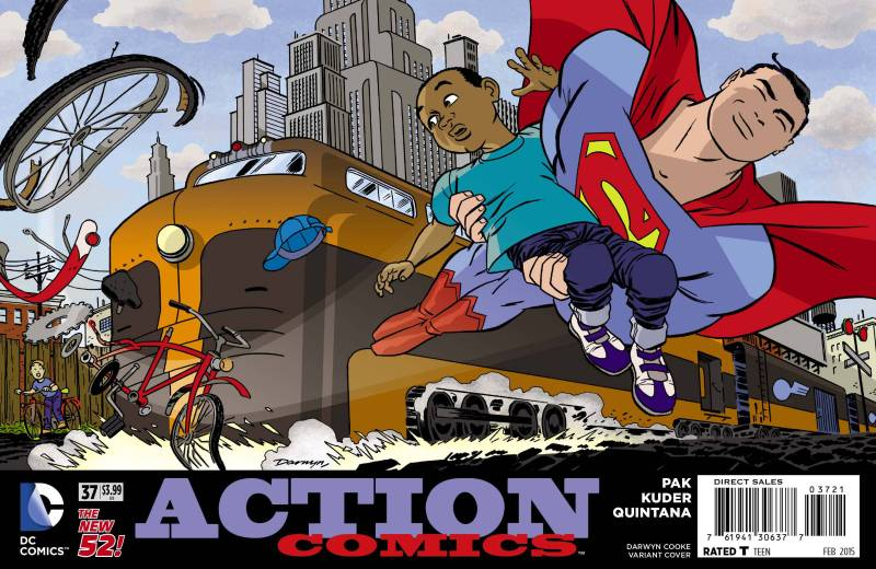 Action Comics #37 Promotion by Darwyn Cooke