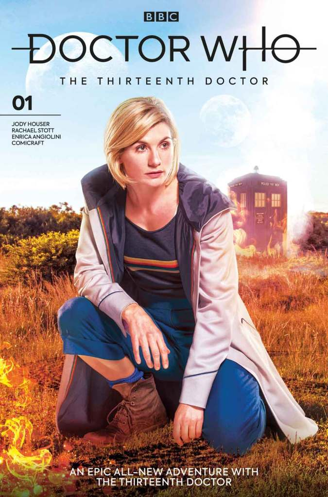 Doctor Who: The Thirteenth Doctor #1 - Cover B