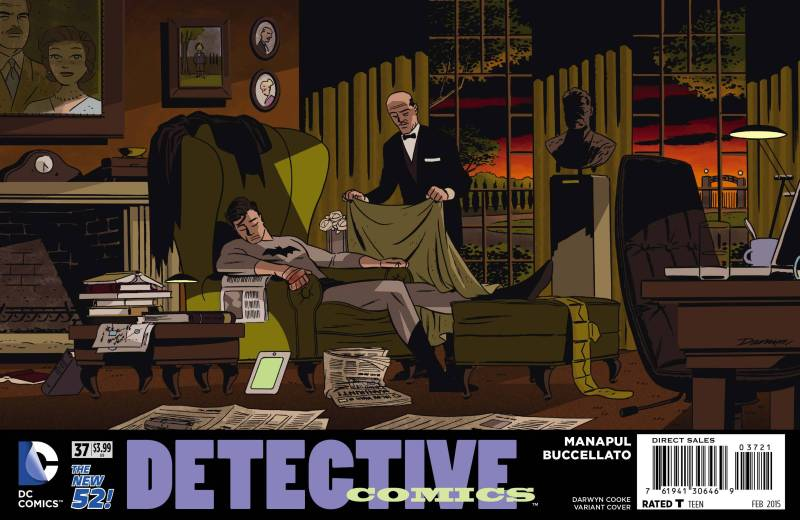 Detective Comics #32 Promotion by Darwyn Cooke