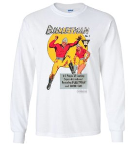 Funthropology Bullet-Man Shirt