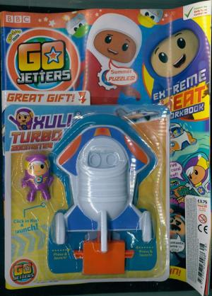 Go Jetters 28, with free gift