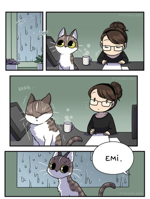 Miki's Mini Comics - Cold Cat