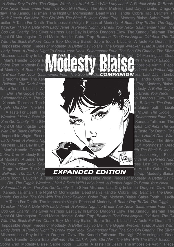 The Modesty Blaise Companion Expanded Edition - Cover