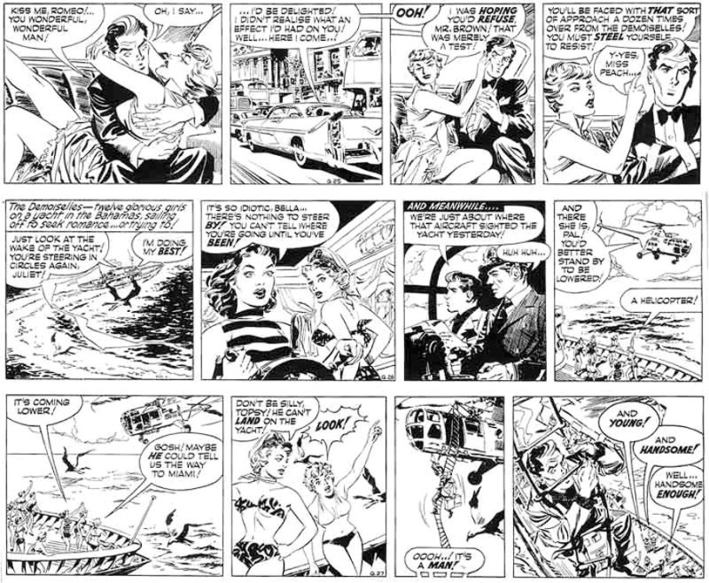 Romeo Brown by Peter O'Donnell and Jim Holdaway