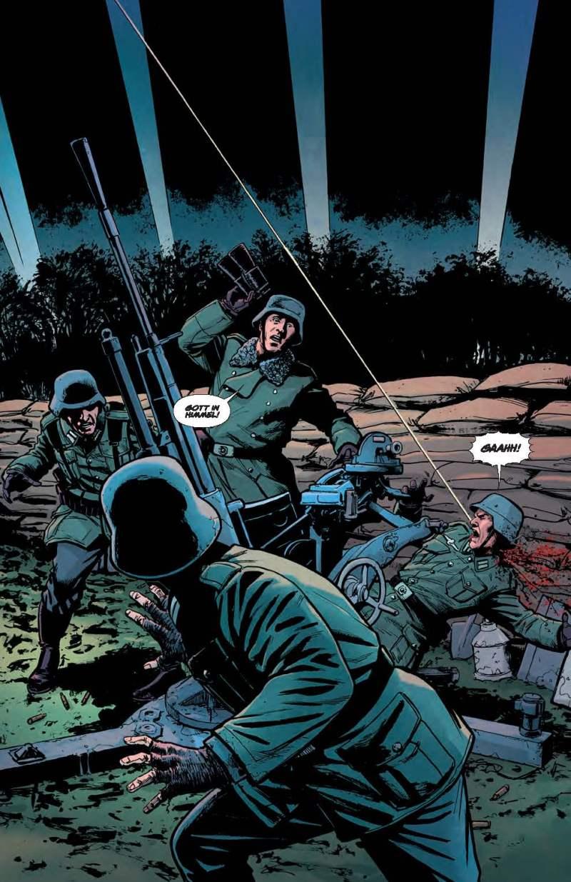 Sniper Elite: Resistance #1 Sample Art