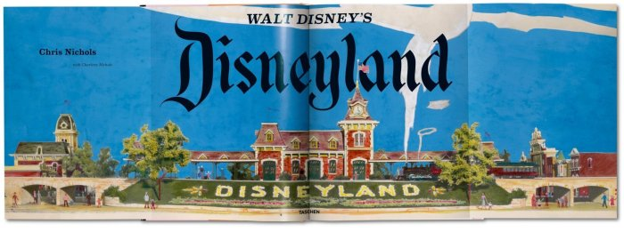 Walt Disney's Disneyland - Cover