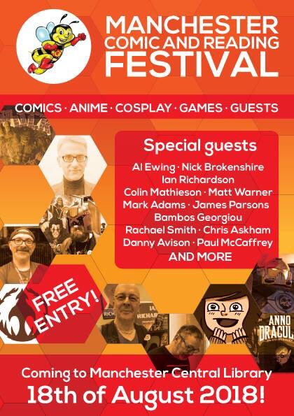 Manchester Comic and Reading Festival