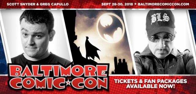 Baltimore Comic-Con 2018 Banner
