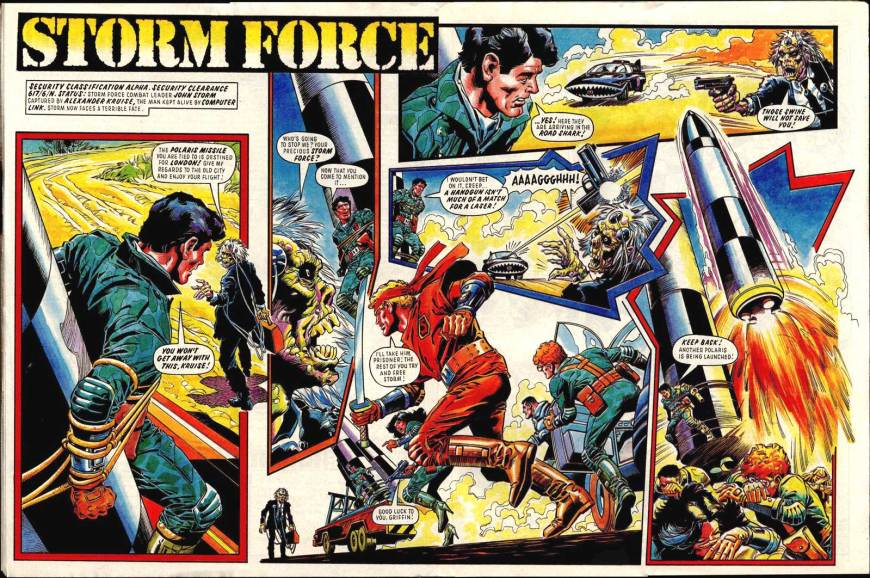 Battle Storm Force - cover dated 30th May 1987 - Storm Force