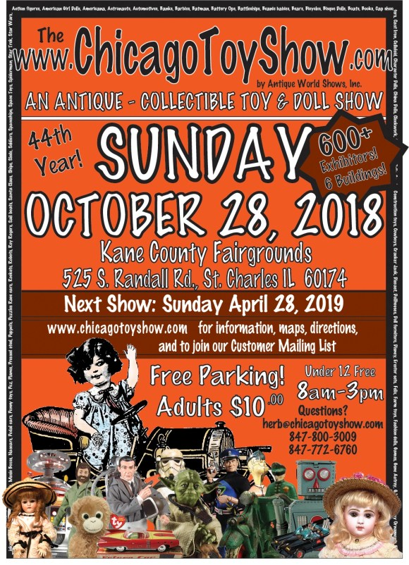 Chicago Toy Show 2018