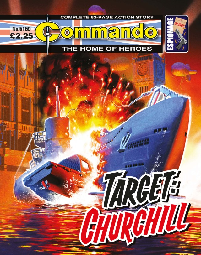 Commando 5159: Home of Heroes: Target: Churchill