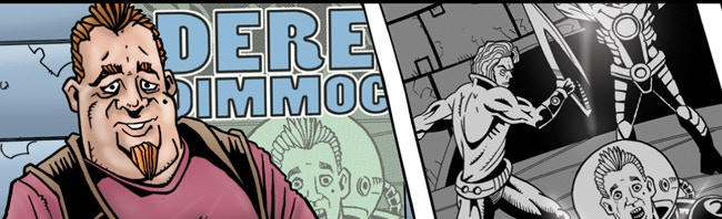 Nottingham Comic Con - Comic Anthology: Inter Space - It's Not Easy Being Famous