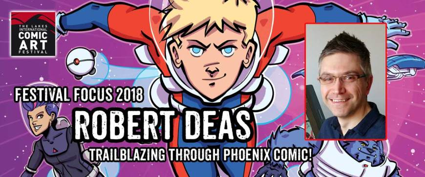 Lakes Festival Focus: Comic Artist and Writer Robert Deas