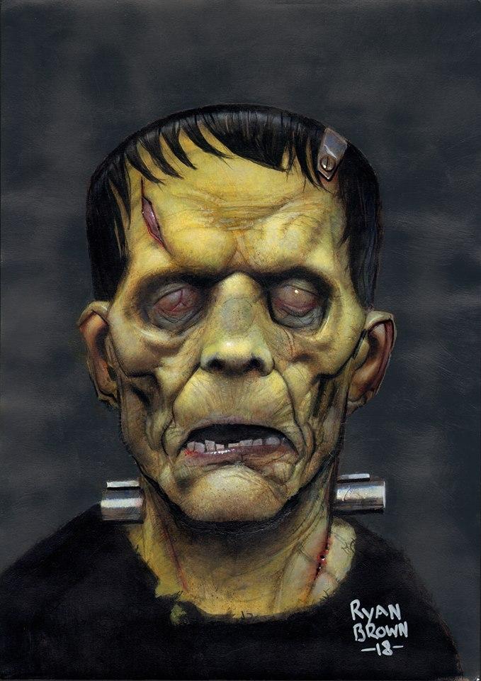 Frankenstein by Ryan Brown