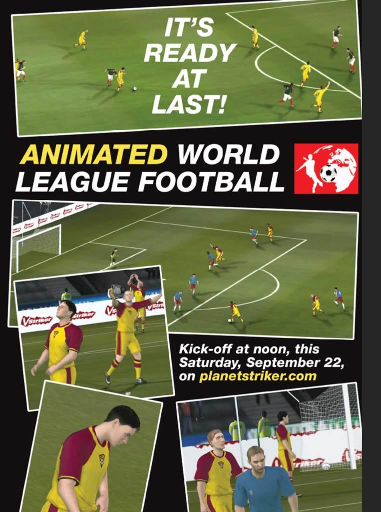 Striker Issue 2 -World Football Promo