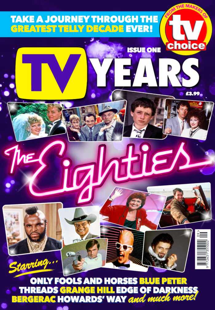TV YEARS Issue One Cover