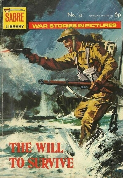 "Sabre War Library 41 - ""The Will To Survive"""