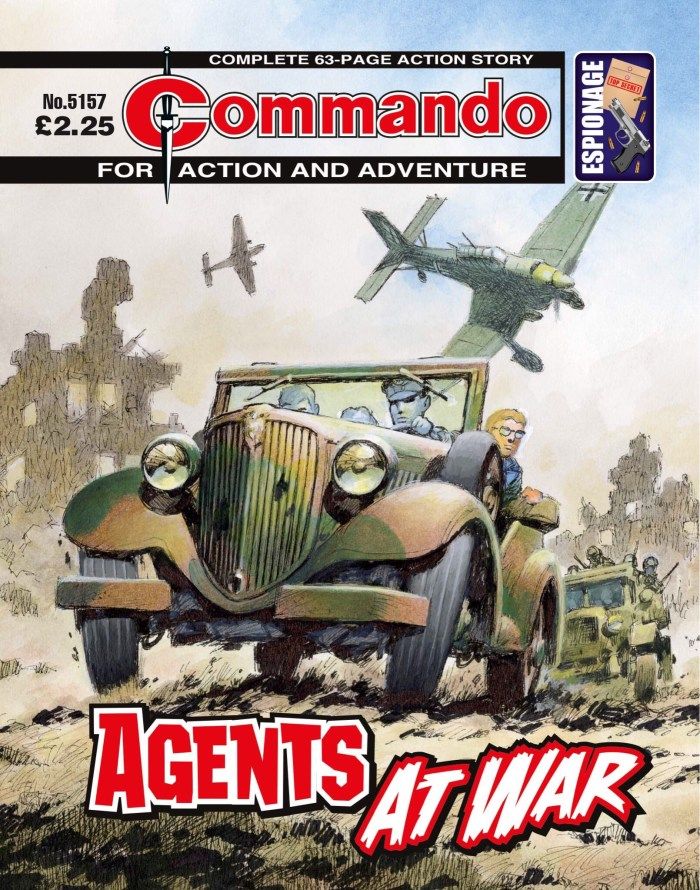 Commando 5157: Action and Adventure - Agents at War