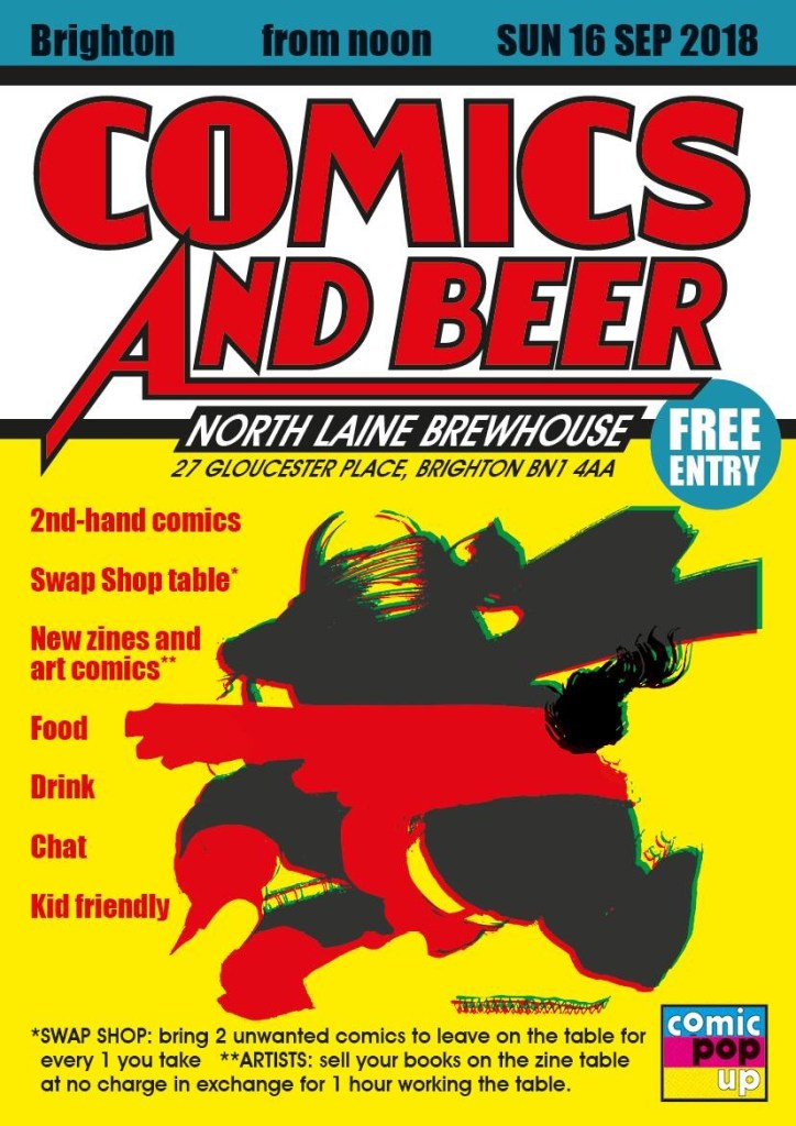 Comics and Beer - North Laine - September 2018