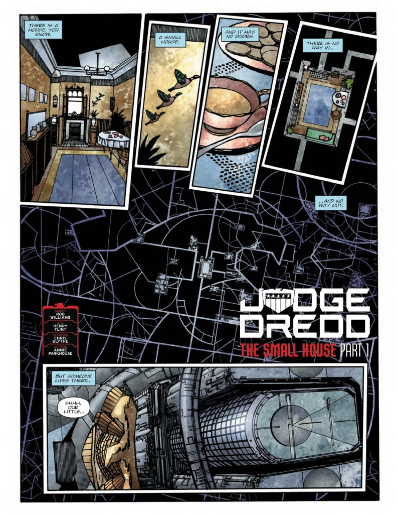 "2000AD Prog 2100 - ""Judge Dredd: The Small House"""