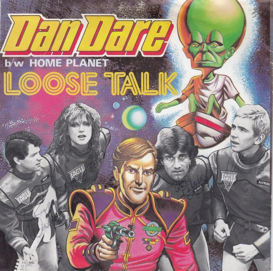 Loose Talk - Dan Dare Single (Front)