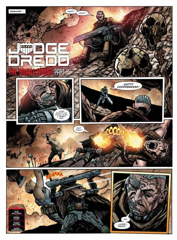 2000AD 2102 - Judge Dredd