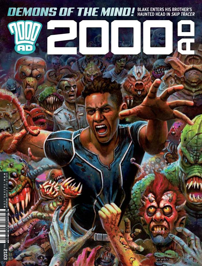 2000AD 2103 - Cover