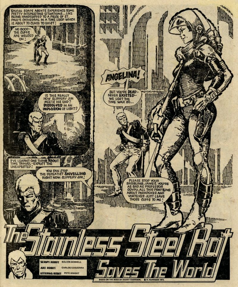 2000AD - The Stainless Steel Rat Saves the World