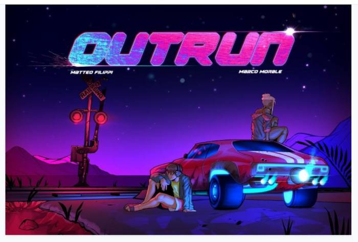 """Outrun"" by Matteo Filippi and Marco Morale"
