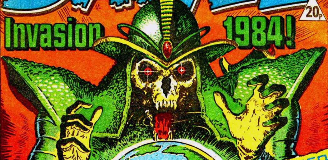 "2019 Treasury of British Comics line-up takes shape, includes ""Invasion 1984"", ""Deathwish"""