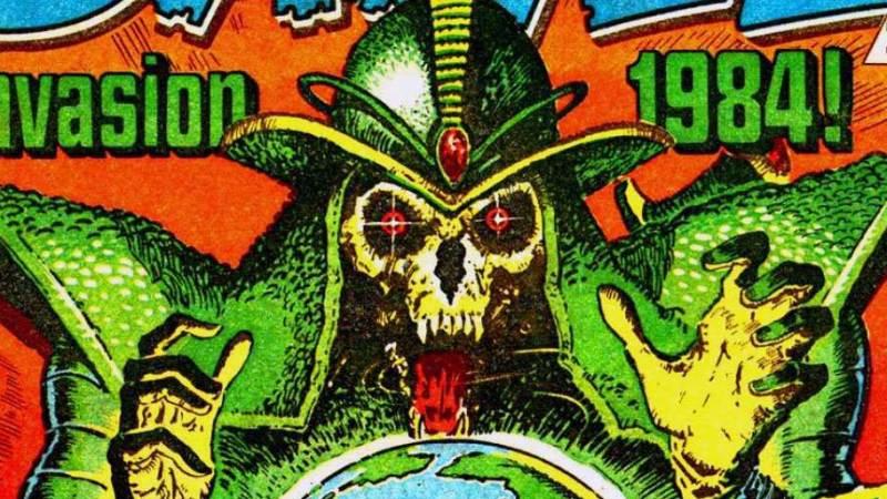 "2019 Treasury of British Comics line-up takes shape, includes ""Invasion 1984"", ""Deathwish"""