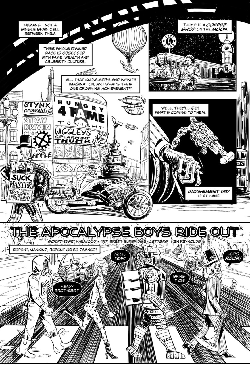 """Apocalypse Boys Ride Out"" by David Hailwood, Brett Burbridge and Ken Reynolds"