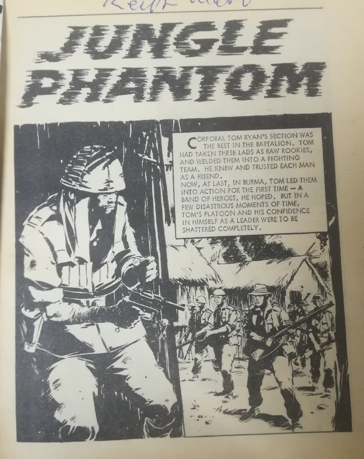 Commando 363 - Jungle Phantom - art by Cam Kennedy
